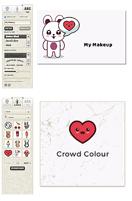 Crowd Colour - Custom Personalised Makeup Palette Designer